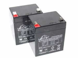 2x Leoch LP12-5.4 - Scooter Batteries